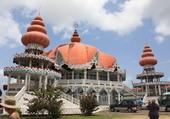 Temple indou à Paramaribo au Surinam