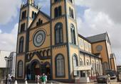 Eglise en bois à Paramaribo