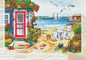 maison bord de plage
