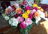 70 roses pour mes 70 ans