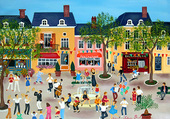 Puzzle Fête au village