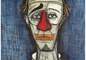 Clown bleu B.Buffet