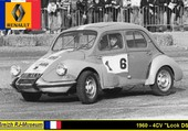 Puzzle Renault 4CV Look DS