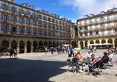 Jolie Place de St Sébastian Espagne