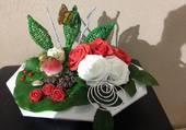Des roses pour garnir