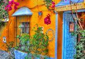 ruelle colorée