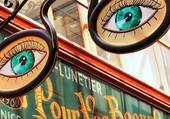 Puzzle enseigne lunetier à paris