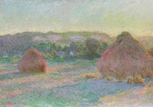 Fin d'été Claude Monet