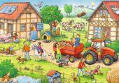Puzzle A la ferme