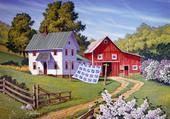 Puzzle J.Sloan: Grandma's Quilt