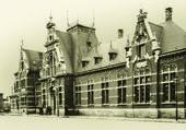 La gare de Jemappes