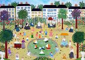 Anne Strasberg : Le square