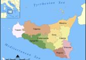 Sicile et ses provinces