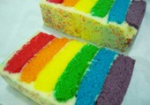 cake coloré