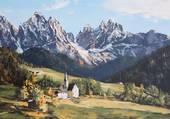 Puzzle paysage de montagne