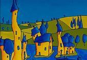 Puzzle Les maisons torves