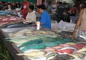 Le marché de Papeete a Tahiti