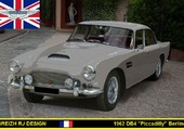 Aston-Martin DB4 Piccadilly
