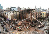 explosion a New york