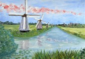 les moulins de Kinderdjick
