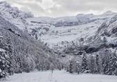 Gavarnie sous la neige