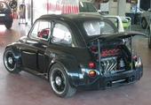 FIAT 500 MOTEUR V8 FERRARI