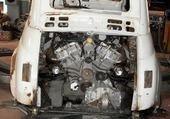 Puzzle FIAT 500 MOTEUR LAMBORGHINI V12