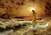 Puzzle Jésus marchant sur l'eau