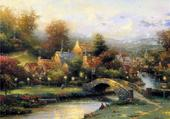 Puzzle joli village