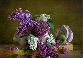 Tableau de lilas