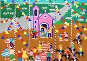 Puzzle A Festa Junina Medida