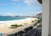 Copacabana à Rio, au Brésil