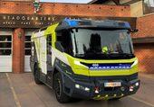 premier camion de pompier électric