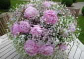 Bouquet très romantique