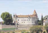 Château Oron/Vaud/Suisse