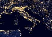 Italie vue du ciel