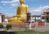 Bouddha village vietnamien