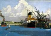 Norman Wilkinson : Harbour