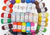 pelotes de couleurs