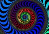 fractale colorée