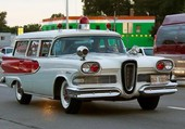 ambulance  edsel 1958