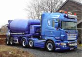 Puzzle camion a ciment