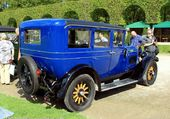 WILLYS KNIGHT BERLINE 6 CYLINDRES 1928