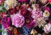 bouquet ebouriffé