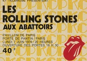 BILLET LES STONES A PARIS 1976