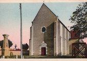 Eglise de Vendat en 1938