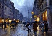 Puzzle il pleut sur  Paris