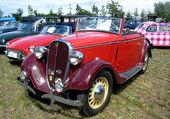 Puzzle SIMCA/FIAT BALILLA CABRIOLET 1933