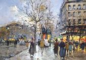 Puzzle une rue à Paris