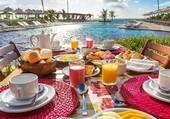 agréable petit déjeuner